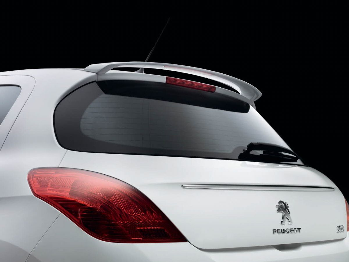 peugeot 308 gti spoiler 2008 2013 t7 t8 kasa i in. Black Bedroom Furniture Sets. Home Design Ideas